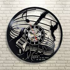 Childrens Bedroom Wall Clocks Online Get Cheap Music Wall Clock Aliexpress Com Alibaba Group