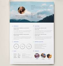 Creative Resumes Templates Free Best 25 Graphic Designer Resume Ideas On Pinterest Resume
