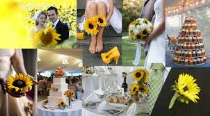 sunflower wedding decorations sunflower decorations for weddings wedding corners