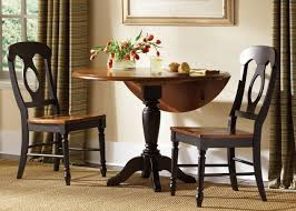 round drop leaf dining table 3 drop leaf kitchen tables for 3 different ways of kitchen concept