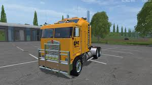 kenworth k100 cat kenworth k100 and cat semi trailer pack ls15 farming