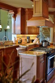 traditional kitchens with islands true to form design