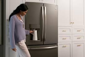 no matter the color scheme ge u0027s slate finish appliances blend and