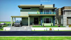 Architectural Design Of 1 Kanal House 3d Front Elevation Com August 2013