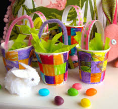 favor cups mini basket favor cups things to make and do crafts and