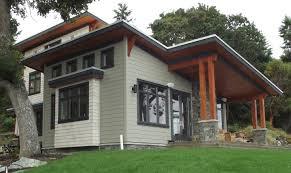 Modern Craftsman House Modern Craftsman Maple Bay Bc John Gower Design