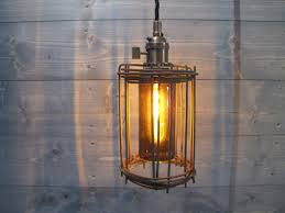 beer bottle light fixture rusted cage with brown beer bottle ceiling light repurposed