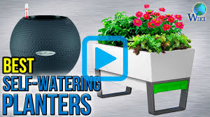 self watering top 10 self watering planters of 2017 video review