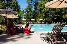 swimming pool area evergreen lodge