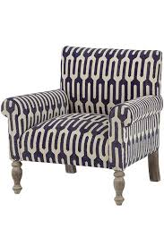 Kilim Armchair Ivy Kilim Chair Geometric Indigo By Home Decorators Havenly