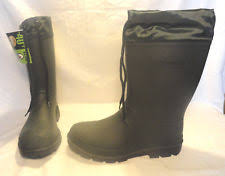 s insulated boots size 9 ozark trail rubber boots for ebay