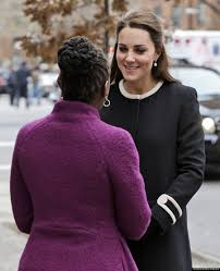 catherine duchess of cambridge bundles up in cute coat in nyc