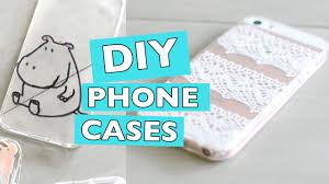 diy phone cases using lace nail polish and sharpies youtube