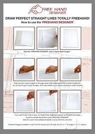amazon com 2 x grid type lettersize u0027freehand designer u0027 sheets