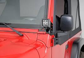kc hilites 3 c3 led lights with windshield mount brackets for 97