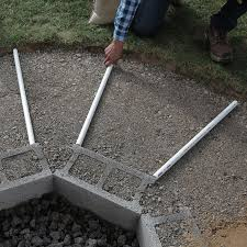 How To Build A Horseshoe Pit In Your Backyard How To Build An In Ground Fire Pit