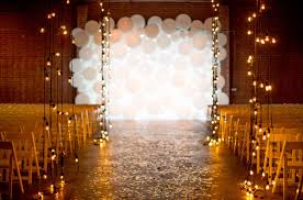 wedding backdrop with lights vintage wall decor ideas balloon backdrop wedding
