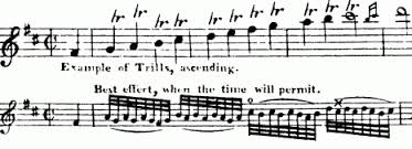 the trill in the classical period
