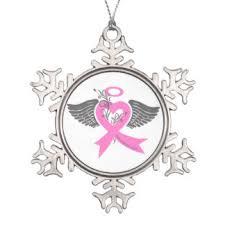 breast cancer awareness ornaments u0026 keepsake ornaments zazzle