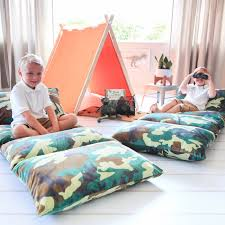 pillow bed for kids kids floor pillow lounge girls party costumes decor butterflycraze
