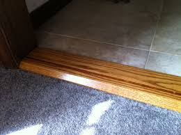 Laminate Flooring Threshold Hand Made Thresholds Door Saddles Room Transitions By Custom