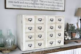 Library Catalog Cabinet Diy Card Catalog Media Cabinet Cottage In The Oaks