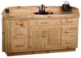 Pine Bathroom Vanity Cabinets by Hickory Bathroom Vanity Home Design Styles