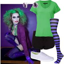 Joker Costume Halloween Diy Joker Costume Poor College Students Parties