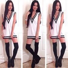 dress sweater shirt t shirt short short dress white t shirt