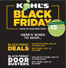 kohl s black friday ad 2017 bargains to bounty