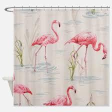 Flamingo Shower Curtains Flamingo Shower Curtains Cafepress