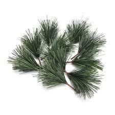 sale 10 pcs lot artificial pine needles tree decor needle