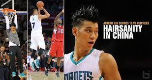 Jeremy Lin Meme - lin his new hairstyle put on a show vs the clippers in china