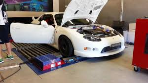mitsubishi fto engine 6a12 fto dyno run youtube