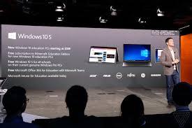 windows 10 s is microsoft u0027s answer to chrome os the verge