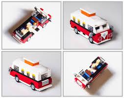 lego porsche life size mini vw t1 camper van lego and legos