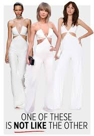 gal jumpsuit gal tried to pass s balmain jumpsuit as its own