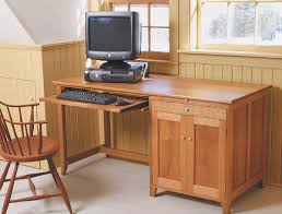 Woodworking Computer Desk Build A Computer Desk Finewoodworking