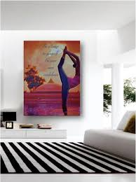 decor painting buddha painting home decor art yoga wall hanging buddha wall art