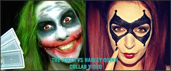 halloween make up joker the joker make up tutorial collab with tania de lys youtube
