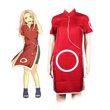 Naruto Halloween Costume Popular Sakura Haruno Buy Cheap Sakura Haruno Lots