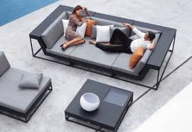 get outside and revel in snug patio furniture together with your