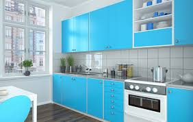 Light Colored Kitchen Cabinets 27 Blue Kitchen Ideas Pictures Of Decor Paint U0026 Cabinet Designs