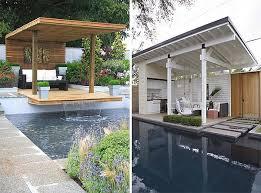 affordable diy pool cabanas