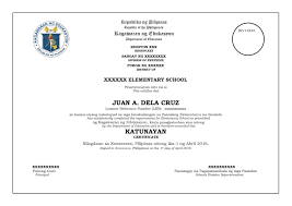 microsoft office certificate templates free final and official sample template for grade 6 and grade 10 final and official sample template for grade 6 and grade 10 certificate from deped central office