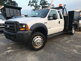 2006 used ford f450 extended cab 4 door utility service truck
