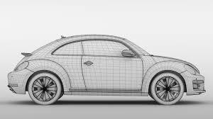 volkswagen beetle white vw beetle 2017 3d model vehicles 3d models high 3ds max fbx c4d