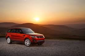 orange range rover 2014 land rover range rover sport driven