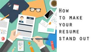 5 tips on getting your resume to stand out an a competitive job