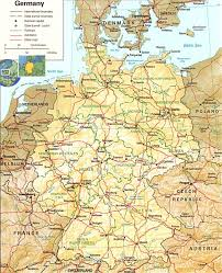 Map Of Germany Cities by Germany Map Mazahjornaldomsn